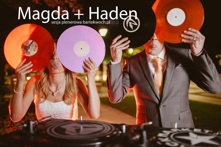 fotografia ślubna, ślub, wesele, slub, zabawa, wedding, party, 1050(pp_w768_h512) Magda + Haden sesja plenerowa