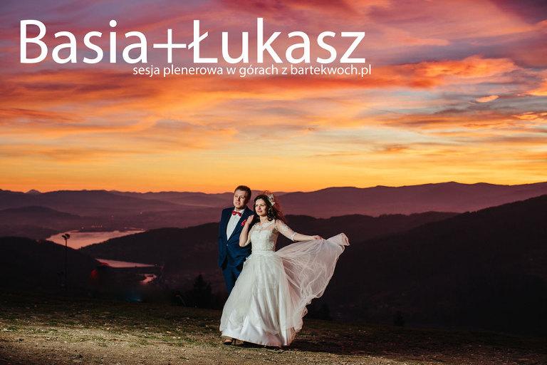 fotografia ślubna, ślub, wesele, slub, zabawa, wedding, party, bartekwoch_2015-11-28-barbara-lukasz_0001-1(pp_w768_h512) Basia+Łukasz zimno i wietrznie na szczycie góry
