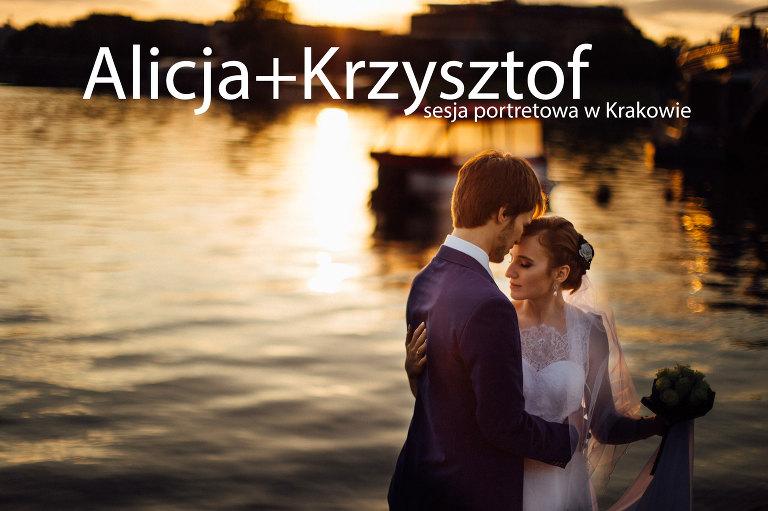 fotografia ślubna, ślub, wesele, slub, zabawa, wedding, party, bartekwoch_2016-04-23-alicja-krzysztof_0000(pp_w768_h511) Alicja+Krzysztof i sesja portretowa w Krakowie