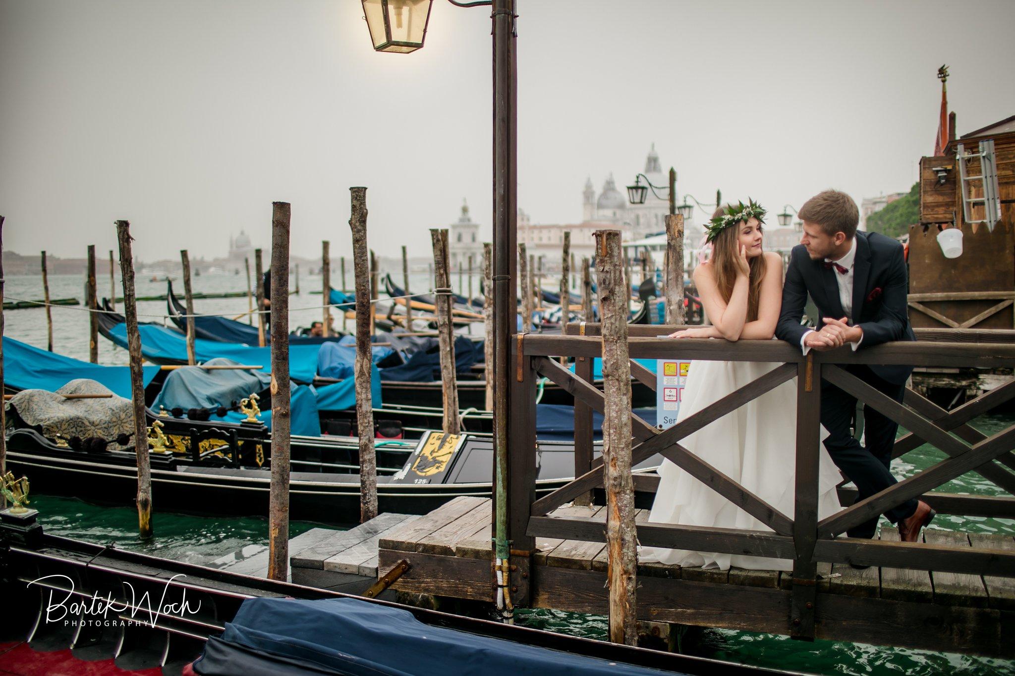 fotografia ślubna, ślub, wesele, slub, zabawa, wedding, party, 0204 Patrycja+Dawid i sesja portretowa w Wenecji